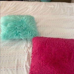 Two Throw pillows